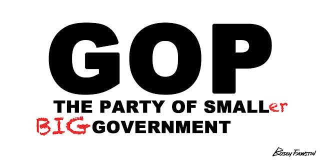 http://3.bp.blogspot.com/-ZdTrgOsR7PI/UKvhZlfVupI/AAAAAAAAMNs/Pr853axSs0Q/s640/GOP+party+of+smallER+BIG+government.jpg