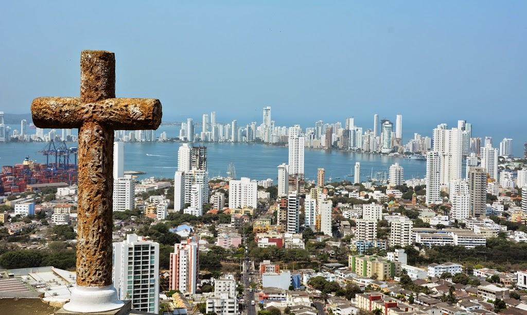 Cartagena Popa Hill cross