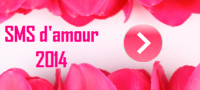 sms d-amour 2014