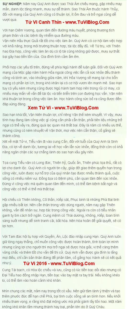Tu Vi 2016 Canh Thin Nam Mang