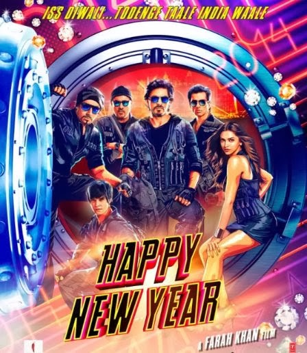 ollywood, Movie 2014, Shah Rukh Khan, Deepika Padukone, Abhishek Bachchan, Sonu Sood, Boman Irani, Vivaan Shah, photos, SRK, Shahrukh Khan, Happy New Year Movie 1st Look Poster