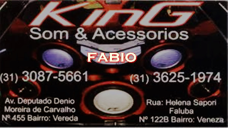 KING SOM & ACESSORIOS RIBEIRÃO DAS NEVES