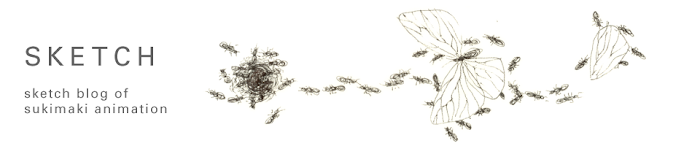 sketch blog of sukimaki  animation