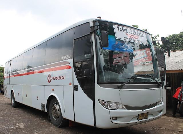 Tarif Bus Primajasa Tasikmalaya - Jakarta