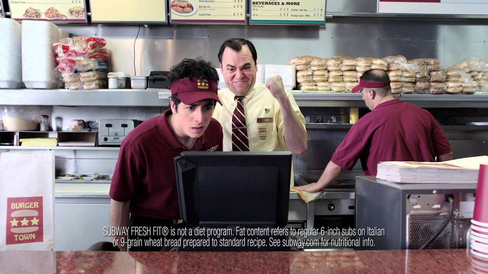 Who is that actor, actress in that TV commercial?: Subway ...