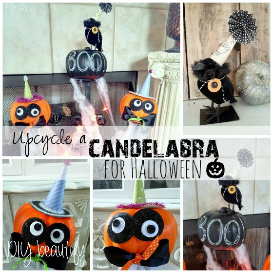 Halloween DIY decor at www.diybeautify.com