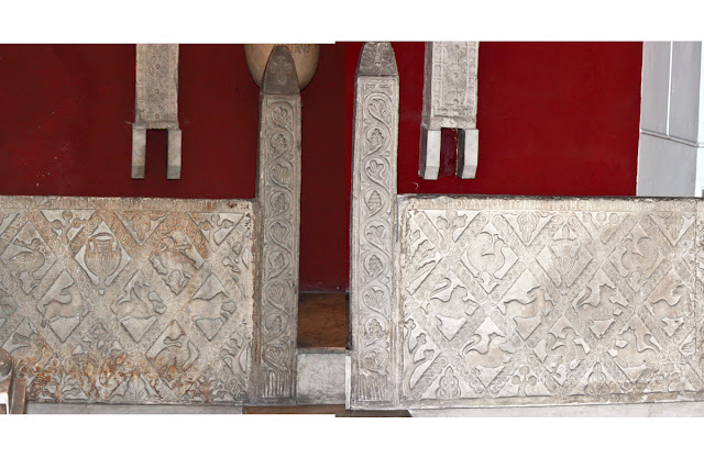 Plutei marmorei presso Sant'Aspreno