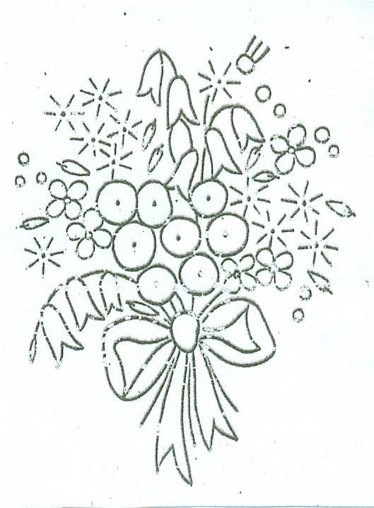 22 Fantastic Vintage Flower Embroidery Patterns Ausbeta