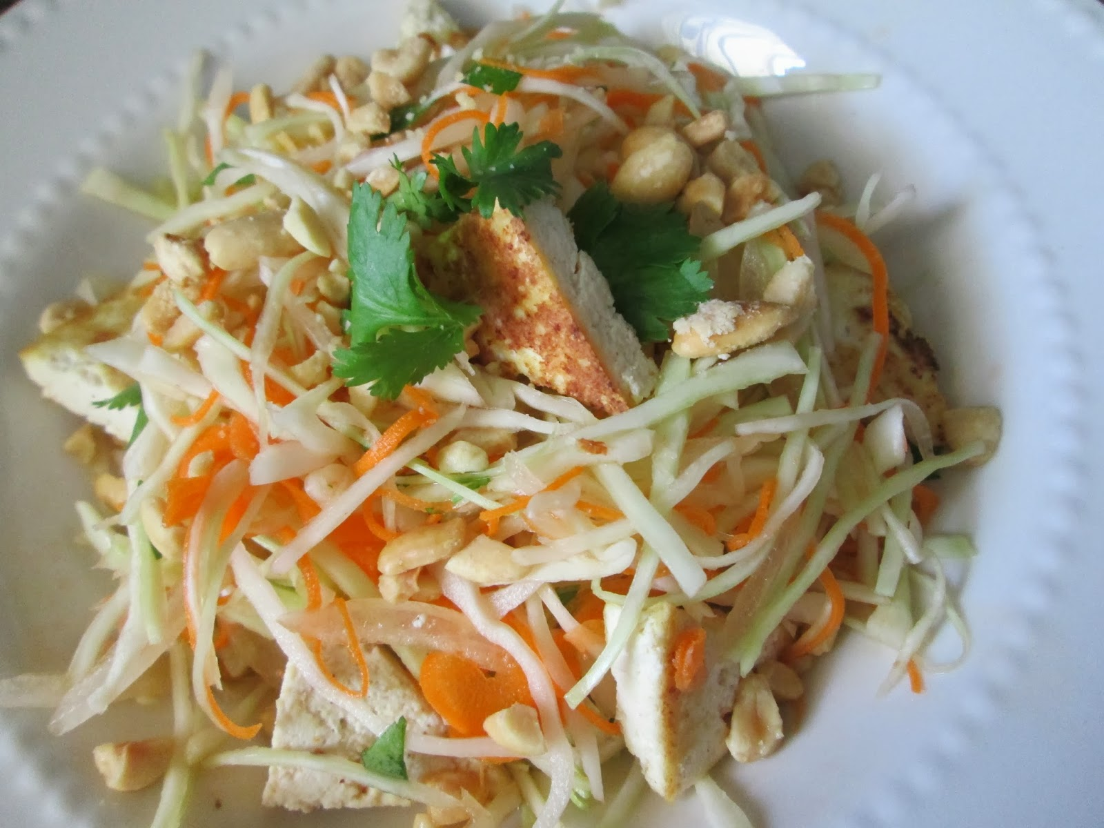 Don't Get Mad, Get Vegan!: Vietnamese Tofu Cabbage Salad