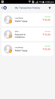 You'll Get Rs 30 Cashback Instant In Oxigen Wallet.  now see the total amount in wallet is 45 enjoy
