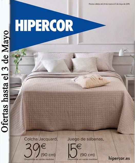 Catalogo de Hipercor Hogar abril 2015