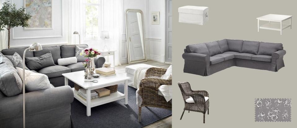 Ikea e momichan salotto colorato for Salotto grigio