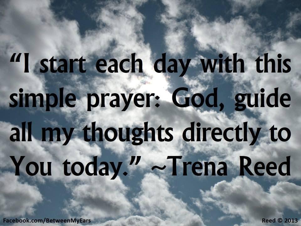 how to start prayer christian