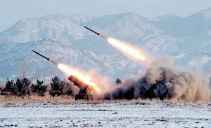 Korea Utara melancarkan peluru berpandu