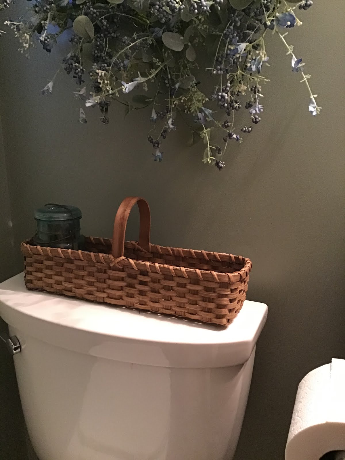 Toilet Tank Basket