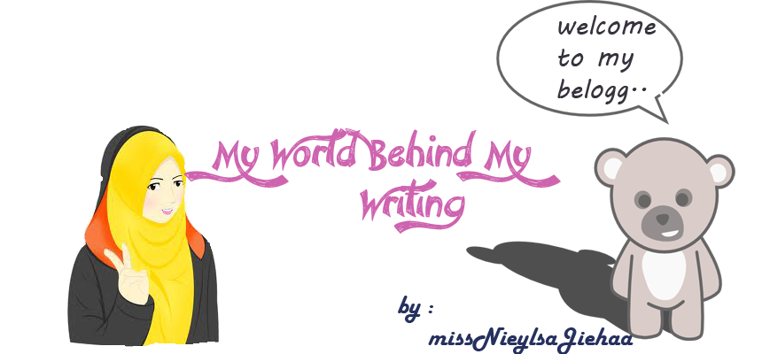 My World Behind My Writing