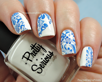 31DC2015 - Blue - Milv Water Decals | Pretty Serious - Presence