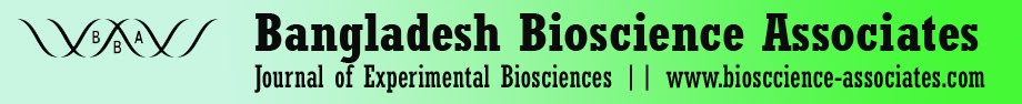 Journal of Experimental Biosciences - Bioscience-Associates.COM