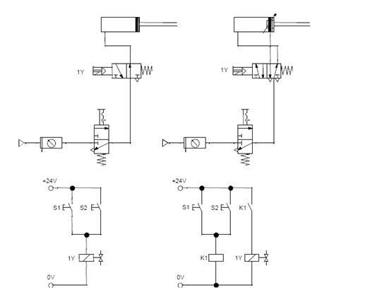Circuito Hidraulico Basico : Diagrama sistema hidraulico basico d completo