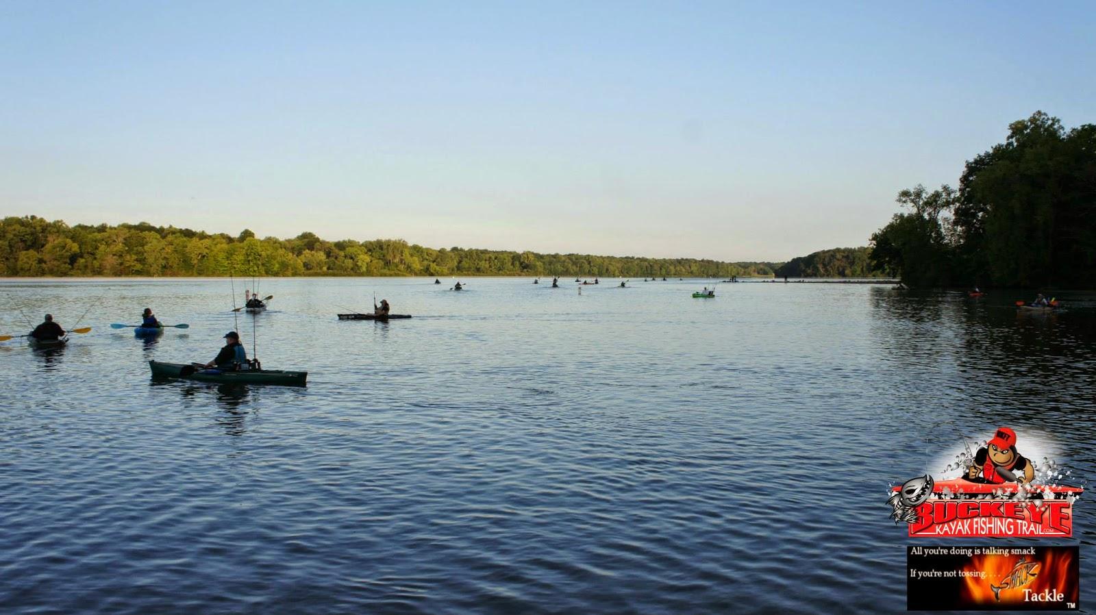 Kfa kayak angler chronicles buckeye kayak fishing trail 39 s for Buckeye lake fishing