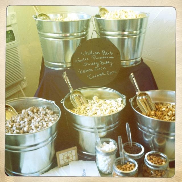 City Barrel Popcorn Bar Recipes