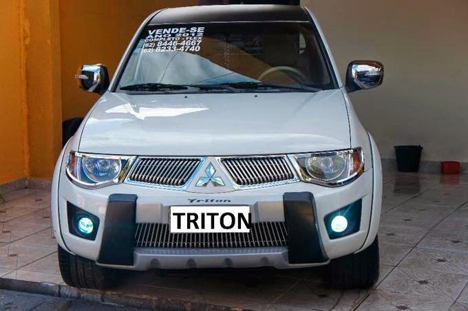 """L200 Triton Suspensão a ar Rodas 26"""""""
