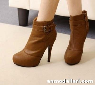 2015 Yeni Moda Bayan Bot Modelleri