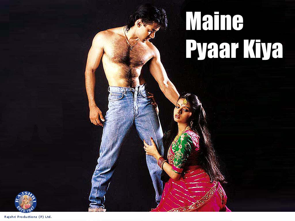 Maine+Pyar+Kiya Maine Pyaar Kiya 2345678907th Look