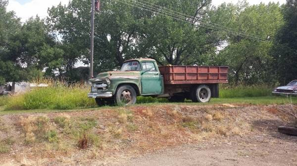 chevy  grain truck auto restorationice