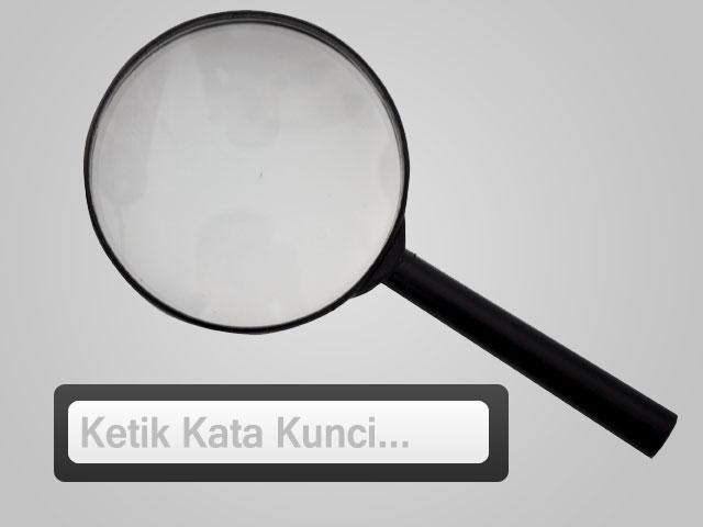 kotak pencarian search box