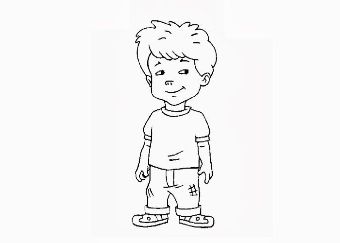 Dragon Tales Max Coloring Pages