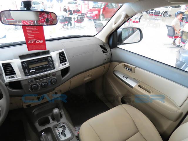 Hilux SW4 Flex Automática - Interior Bege