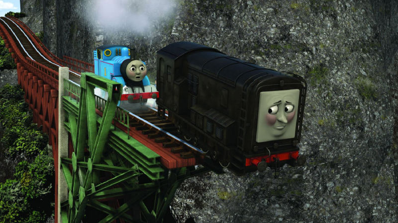 Steamies Vs Diesels ☁ Misty Island Rescue ☁☁☁☁