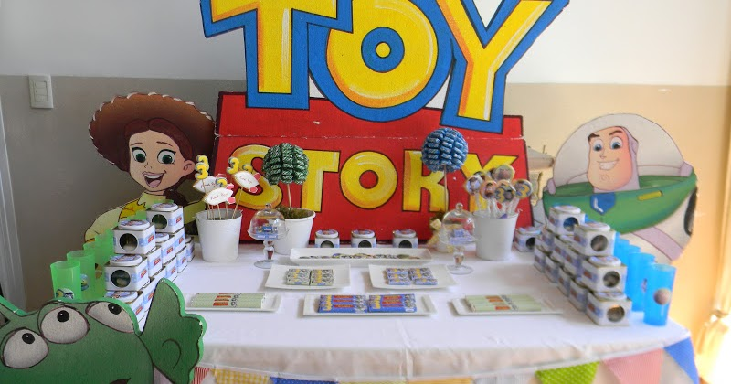 Toy Story 4 2012 : Cumples tematicos cumpleaños de toy story