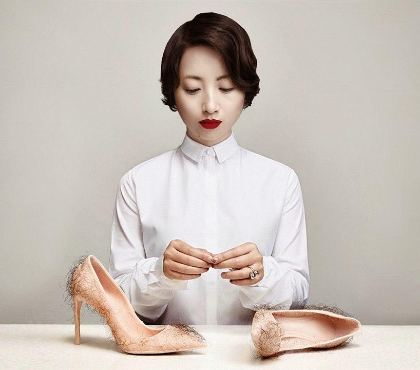 Art - Zhu Tian (5 photography) surrealism мохнатые туфли abstract-art