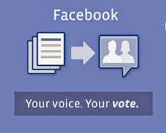 Facebook I'm A Voter feature