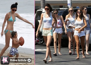 Kendall & Kylie Jenner Hit the Beach, Get Their 'SWERVEEE' On » Gossip | Kylie Jenner