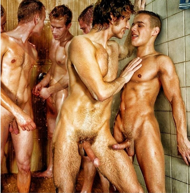 Nude men group fucking valuable