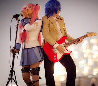 Angel Beats' Hinata Yui Cosplay