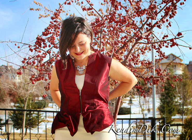 moda dikiş blog bordo bluz