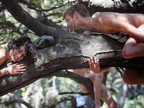 Çıplak Ağaca Tırmanmak