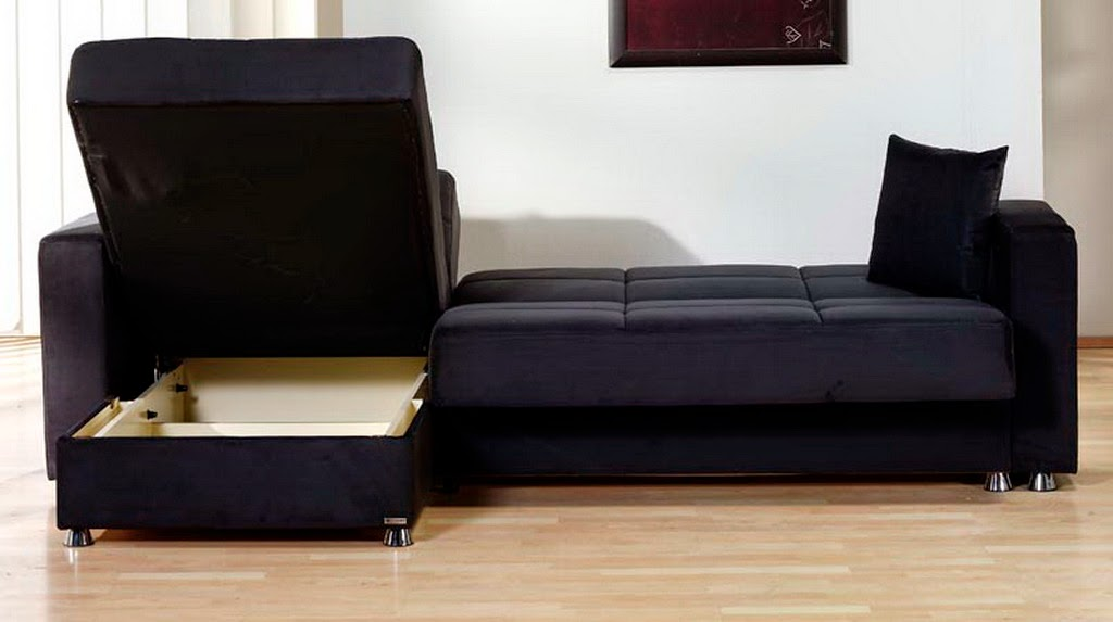 Microfiber sectional sofa for Black microfiber chaise