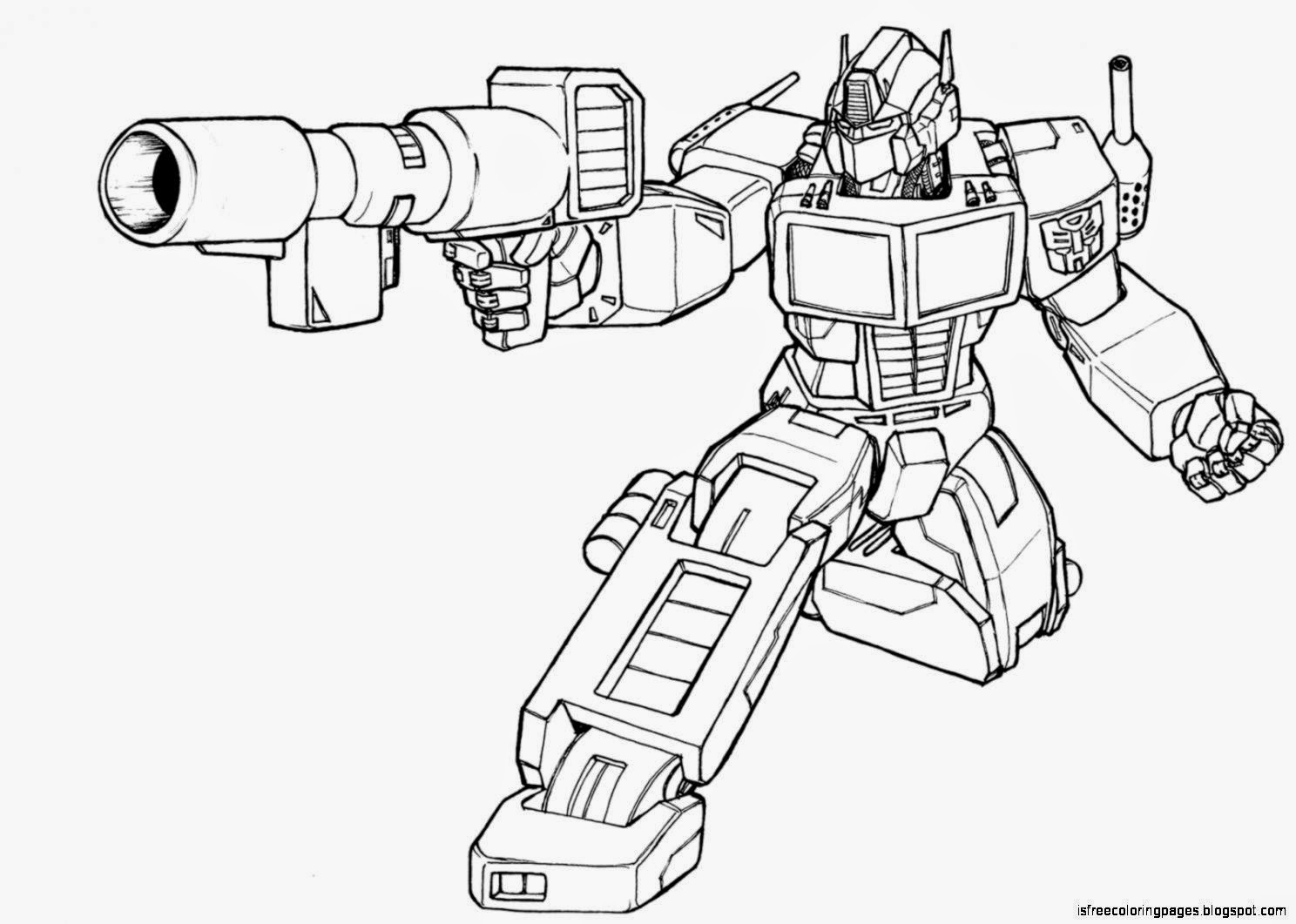 Transformer coloring pages free coloring pages for Transformers 4 coloring pages