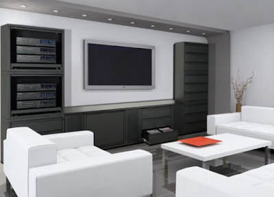 Home Theater Furniture and Interior Design Ideas | Home Design Ideas