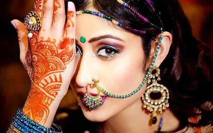 История стили и значение «Мехенди» – рисунков хной  - индийские татуировки хной
