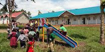 Κούνιες στο Δημοτικό σχολείο του Λουγκουζί
