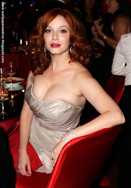 christina hendricks hot unseen hd wallpapers