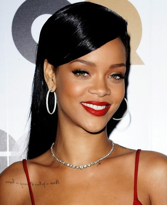 Displaying (20) Gallery Images For Rihanna Brown Eyes...