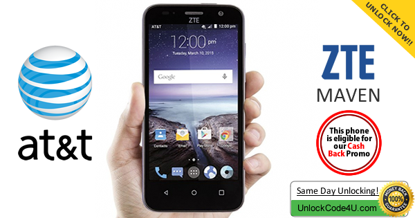 Factory Unlock Code for ZTE Zinger