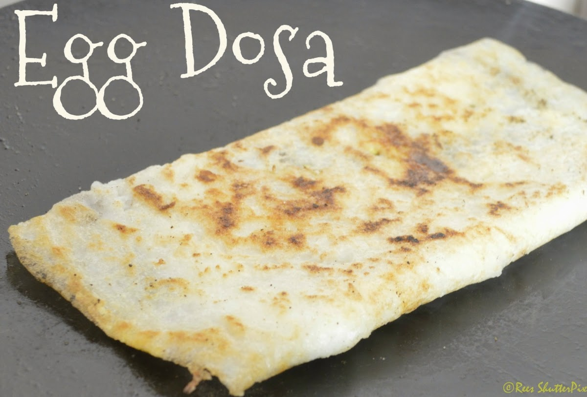 how to make Egg Dosa recipe